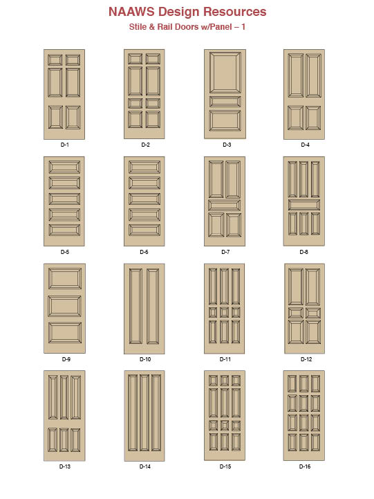 Doors stile and rail ideas north american architectural for Stile design