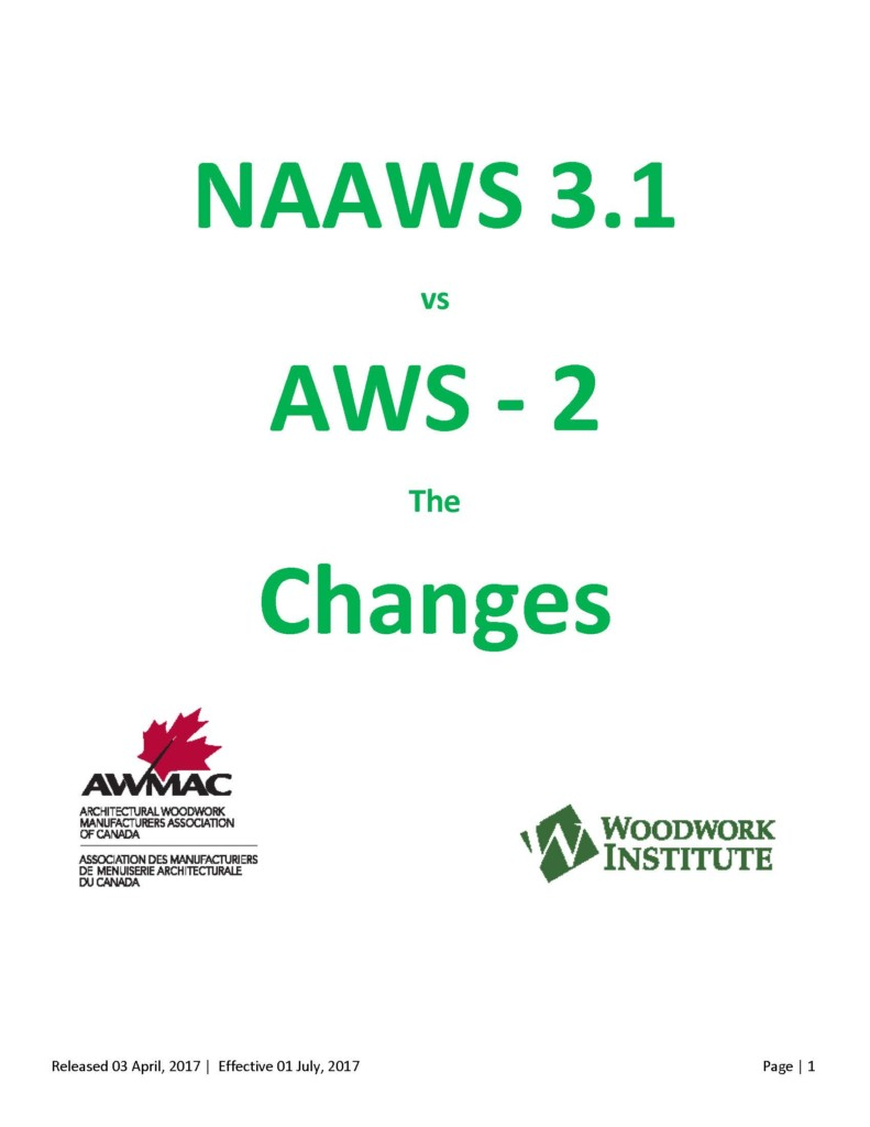 NAAWS vs. AWS2: Changes – Nort...